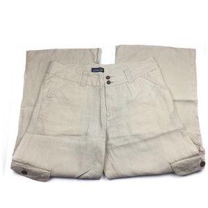 Patagonia 100% Hemp Cropped Pants